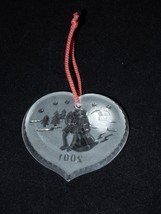Waterford Crystal Joys Of Winter Ice Skaters Christmas Ornament 2001 4th Edition image 4