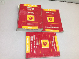 1997 DODGE DAKOTA TRUCK 2WD 4WD Service Repair Shop Manual OEM Set W BOD... - $98.99