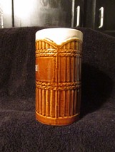 Vintage Safari Sheraton Waikiki Hawaii Tiki Mug Daga Hawaii Brown Glaze Bar - $21.99