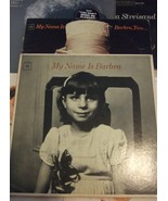 Streisand -(2 Record Albums) My Name is Barbra  & My Name Is Barbara 2  - $5.95