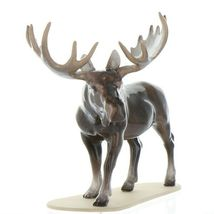 Hagen Renaker Miniature Bull Moose on Base Ceramic Figurine image 11