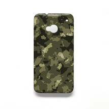 Military Army Camo Pattern HTC One M7 Hard Case Cover - $15.99