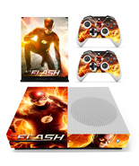 Xbox One S Slim Console Skin The Flash DC Comic... - $12.00