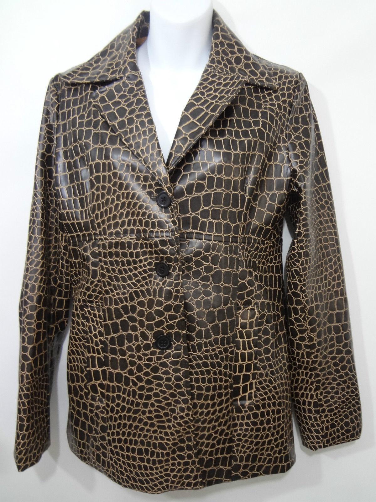 NWT GREAT Dollhouse M MEDIUM WOMEN BROWN Coat Faux-Fur HooDY Puffer JACKET