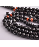 Antique Islamic black coral/ silver inlay -worry beads-komboloi  - $197.01