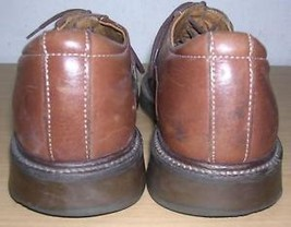 Leather Mens Walking Brown Shoes US Oxfords 43 EU 10 Wayne Robert 05Pxqa1a