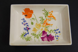 Vintage Elizabeth Arden Made in Japan Flower Pattern Soap Dish - $18.76