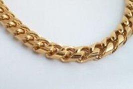 24K Gold Italian Curb Chain plus Matching Braceletgep - $62.00