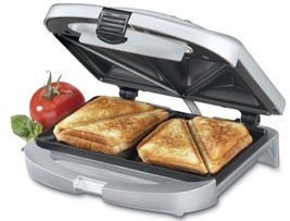 Sandwich Grill Breakfast Dinner Panini Omelette Maker Toasted Grilled Ch... - £22.35 GBP