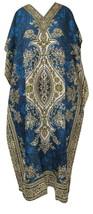 New Long Kaftan Dress Hippy Boho Maxi, Free Size Women Caftan Top Dress Gown  - $11.30