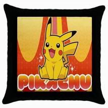 Pikachu Cushion Cover Throw Pillow case - $281,89 MXN