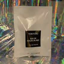 Sealed In Package TOM FORD EAU DE SOLEIL BLANC EDT 3mL Rollerball Great Gift image 3