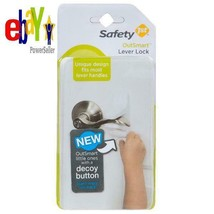 Safety 1St Outsmart Lever Lock With Decoy Button, White - $22.84