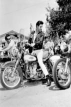 Elvis Presley / Motorcycle Metal Sign - $30.00