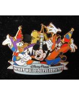 DISNEY Parks WHAT WILL YOU CELEBRATE Pin New - $9.99