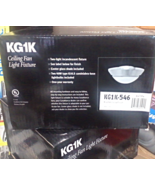 Casablanca KG1K Ceiling Fan Light Fixture Brushed Cocoa Finish - $59.99