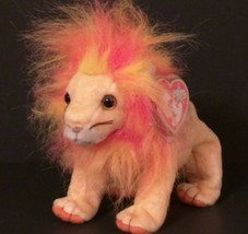 Ty B EAN Ie Babies 2000 Collectible 4285 – Bushy The Lion – Retired - Mwmt - $10.69