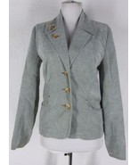 SITWELL Anthropologie Fitted Corduroy Jacket 4 ... - $25.49