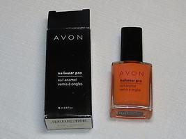 Avon Nail Wear Pro Enamel orn Creamsicle 12 ml 0.4 fl oz nail polish mani pedi;; - $19.78