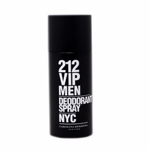 CAROLINA HERRERA 212 VIP MEN DEODORANT SPRAY NYC 150 ML/5.1 FL.OZ. - $31.19