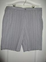 APT.9 Plaids Slub Texture Flat Front Men' Shorts Gray 40 $44.00 UPC52 - $17.47