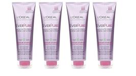 L'Oreal Hair Expertise EverPure Moisture Shampoo 8.50 oz LOT OF 4 - $22.26