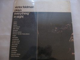 Victor Feldman Plays Everything In Sight Pacific Jazz ST 20121 Stereo SEALED LP image 2