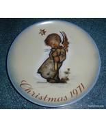 1971 Sister Berta HUMMEL Collector Series Christmas Plate 1st Edition - ... - $10.66