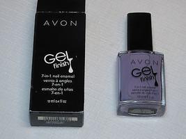 Avon Gel Finish 7-in-1 Nail Enamel Lvndr 12 ml 0.4 fl oz nail polish mani pedi;; - $22.76