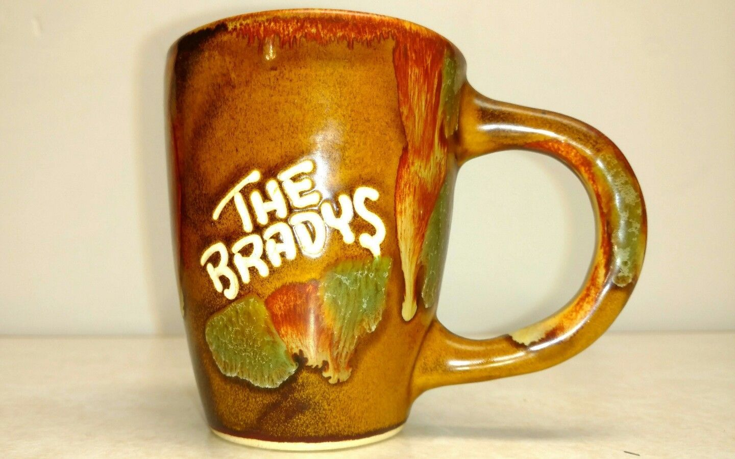 THE BRADYS Personalized Dryden Hot Springs ARK Drip Coffee Tea Cup Mug Pottery - $9.49