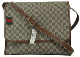 GUCCI 246411 GG Supreme Canvas Messenger Bag, Multi-color DISPLAY - $789.00