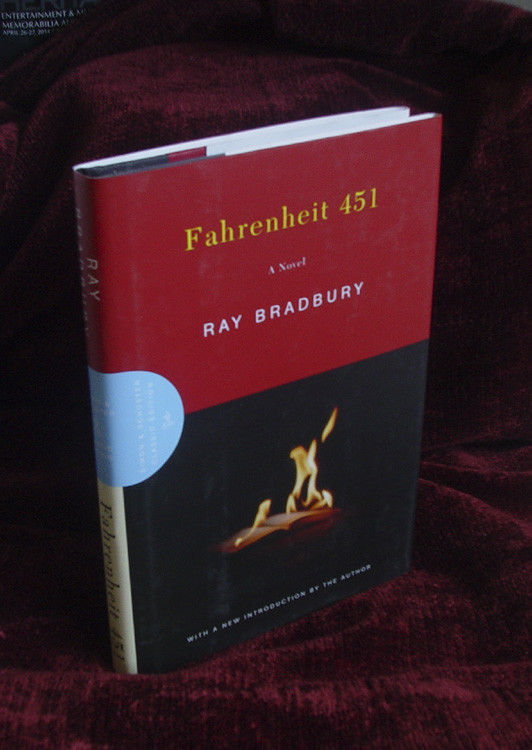 FAHRENHEIT 451 Ray Bradbury FINE signed  2003 50th Anniv. Edn. signed.dated 2003