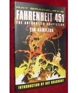 Ray Bradbury's Fahrenheit 451 : The Authorized Adaptation 1st paperback ... - $147.00