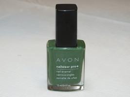 Avon NailWear Pro+ Nail Enamel Garden Gr 12 ml 0.4 fl oz nail polish mani pedi;; - $19.78