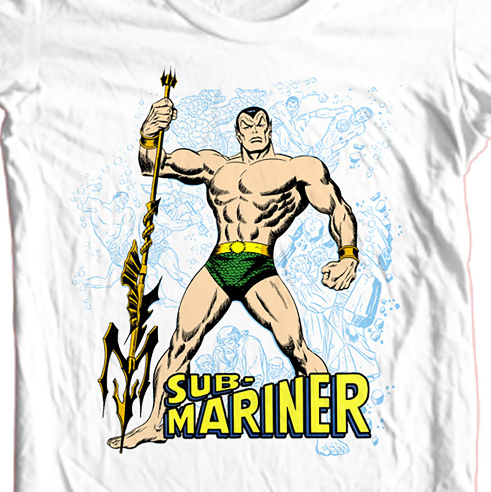 Sub mariner prince namor t shirt for sale t shirt shop marvel white comics