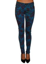 Tripp Floral Printed Womens Denim skinny five p... - $29.99