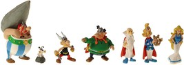 Asterix and friends set of 7 plastic figurine in tube Plastoy image 2