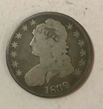 1832 Silver Capped Bust Half Dollar Lower Grade Affordable - $74.25