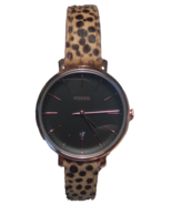 "NWOT Fossil ""Jacqueline"" ES4681 Gold/Cheetah Watch - $54.40"