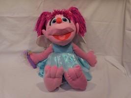 "Muppets Abby Cadabby 21"" Sesame Street Nanco Plush Toy Doll Boys Girls 5+ 2008 - $24.02"