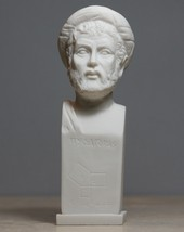 Pythagoras Philosopher Mathematician Scientist Bust Statue Sculpture 6.3΄΄ - $26.87