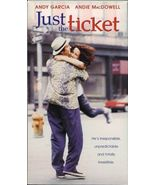 JUST THE TICKET   ANDIE MacDOWELL VHS  RARE - $4.95
