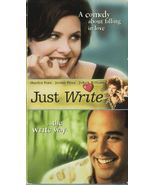 JUST WRITE  SHERILYN FENN JEREMY PIVEN VHS RARE - $4.95