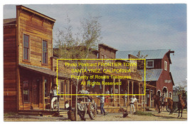 1970's Real Photo Postcard FRONTIER TOWN SANTA YNEZ, CALIFORNIA Unposted - $19.99