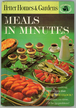 Meals in Minutes Better Homes & Garden cookbook 180 recipes - $7.00