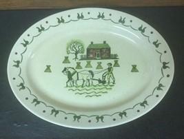 "Metlox Poppytrail Homestead Provincial Serving Plate or Platter 13 1/2"" - $9.49"