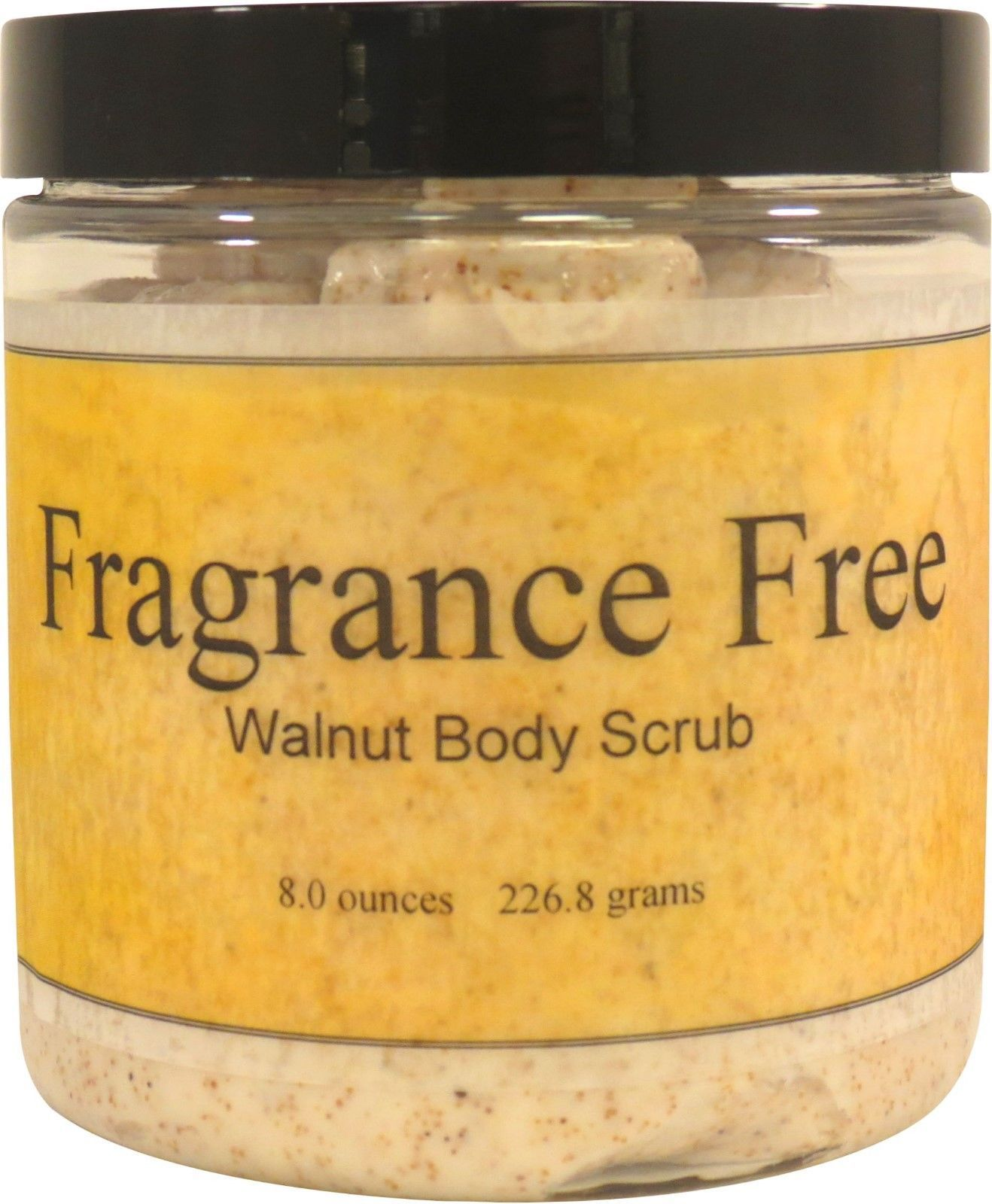Fragrance Free Walnut Body Scrub