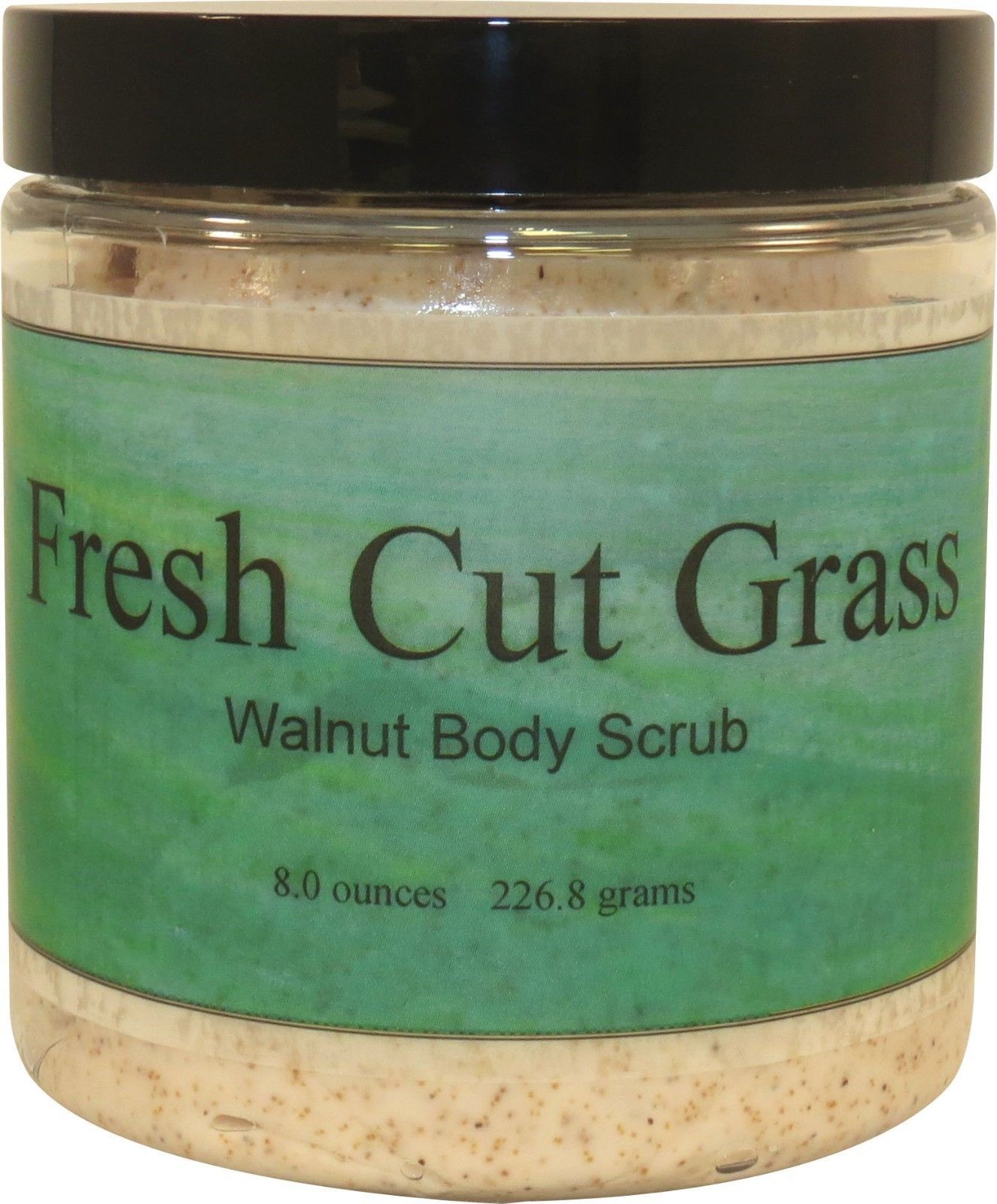 Fresh Cut Grass Walnut Body Scrub