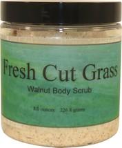 Fresh Cut Grass Walnut Body Scrub - $18.42+