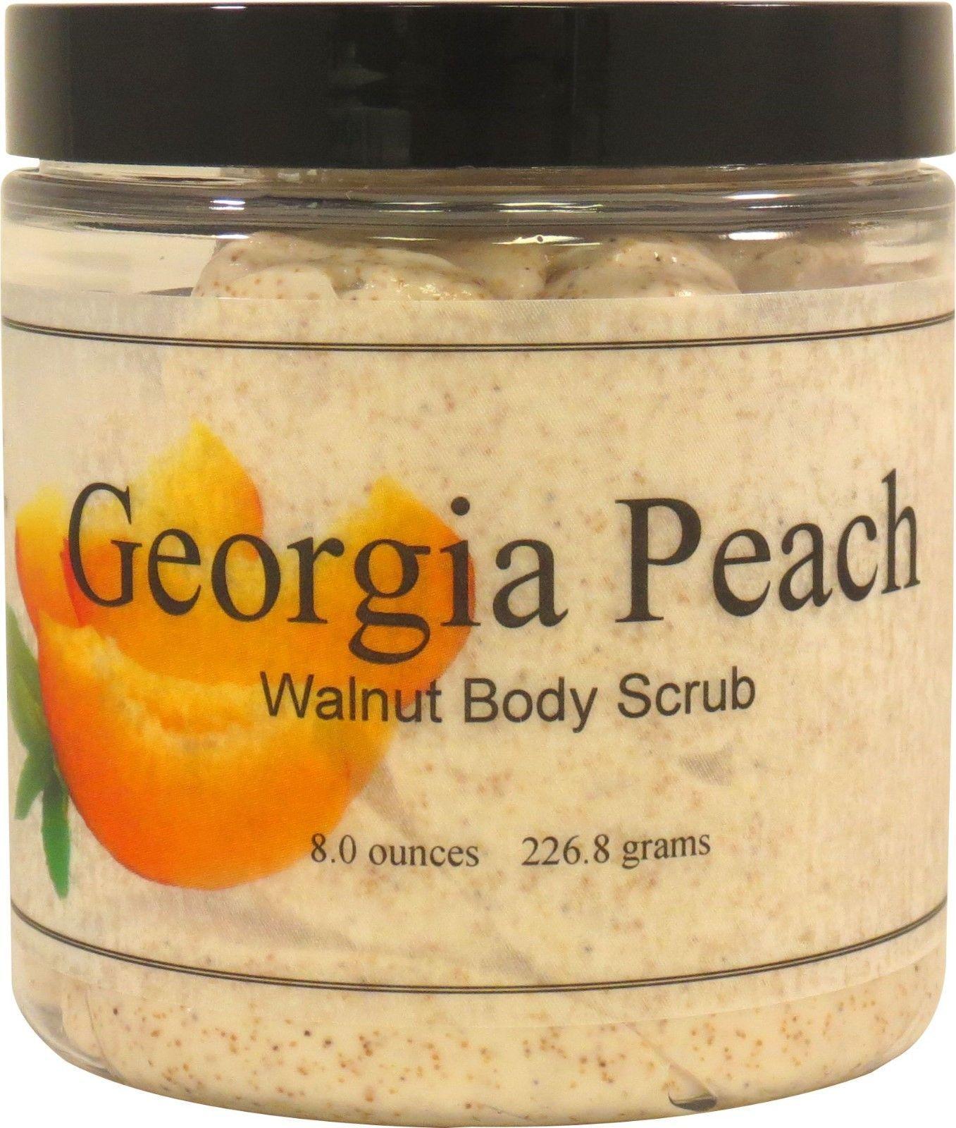 Georgia Peach Walnut Body Scrub
